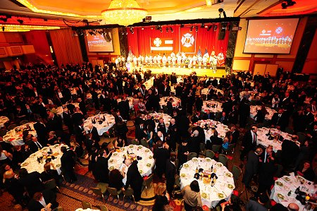 The FDNY Foundation Dinner drew hundreds to the New York Hilton.