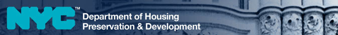 The City of New York Department of Housing Preservation &amp; Development