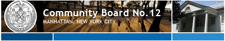 Community Board No. 12, Manhattan, New York City