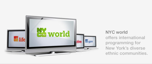 NYCTV world offers international programming for New York's diverse ethnic communities