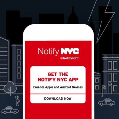 Get the NYC Notify App