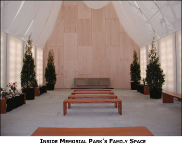 Inside Memorial Park's Family Space