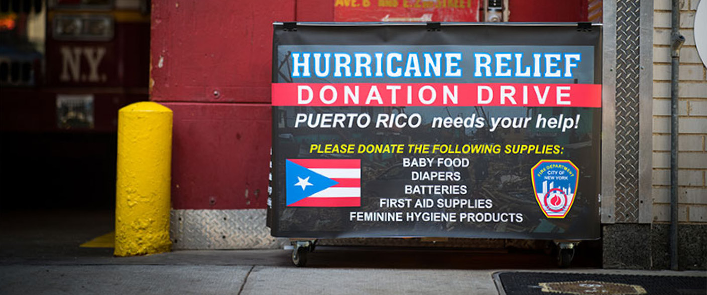 Learn what you can do for hurricane relief efforts