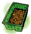 illustration: worm bin
