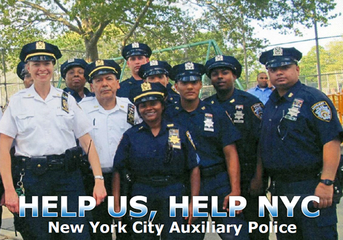 Volunteer as an auxiliary officer