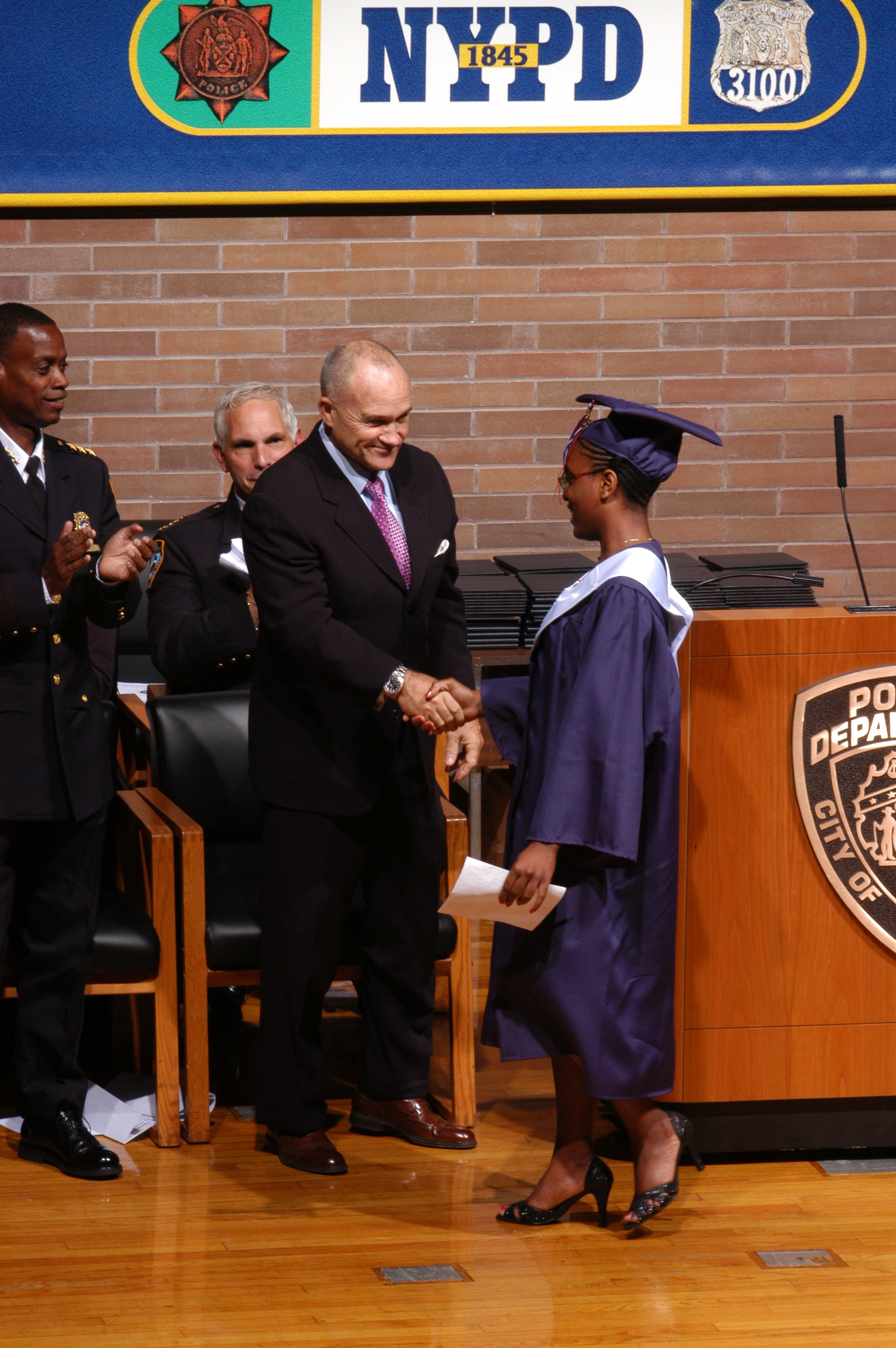 2008 Valedictorian Safiya Edwards Photo Is A Corporal In The NYPD Explorers