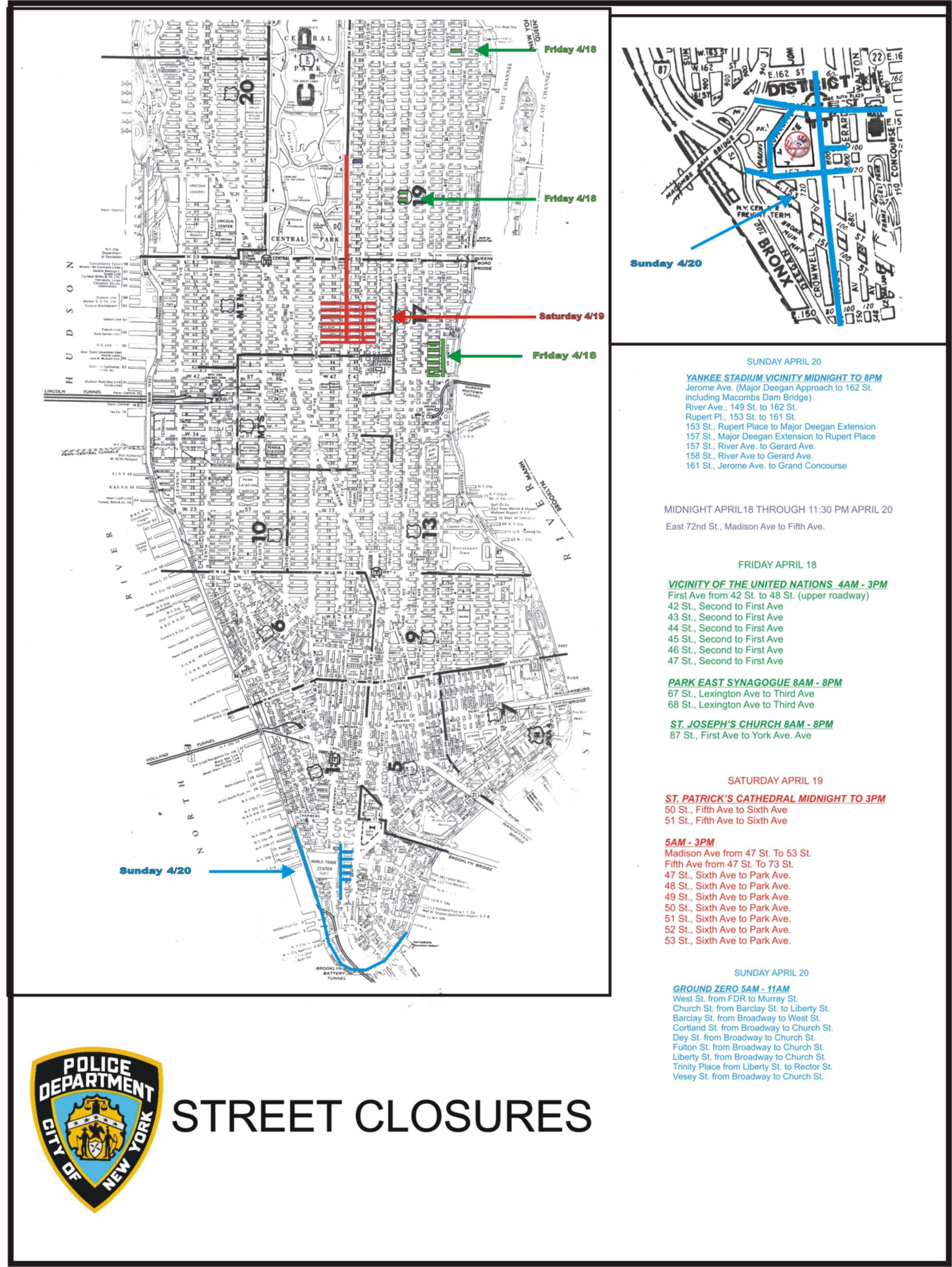 Fad Trends Nyc Marathon Street Closings Pictures - Nyc marathon map