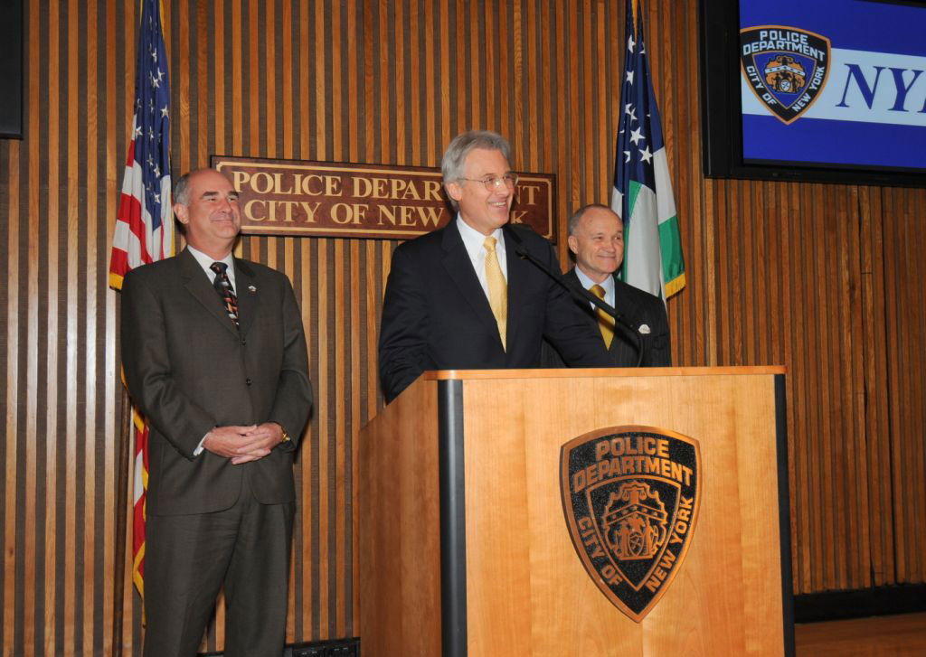 New York Chief of Detectives