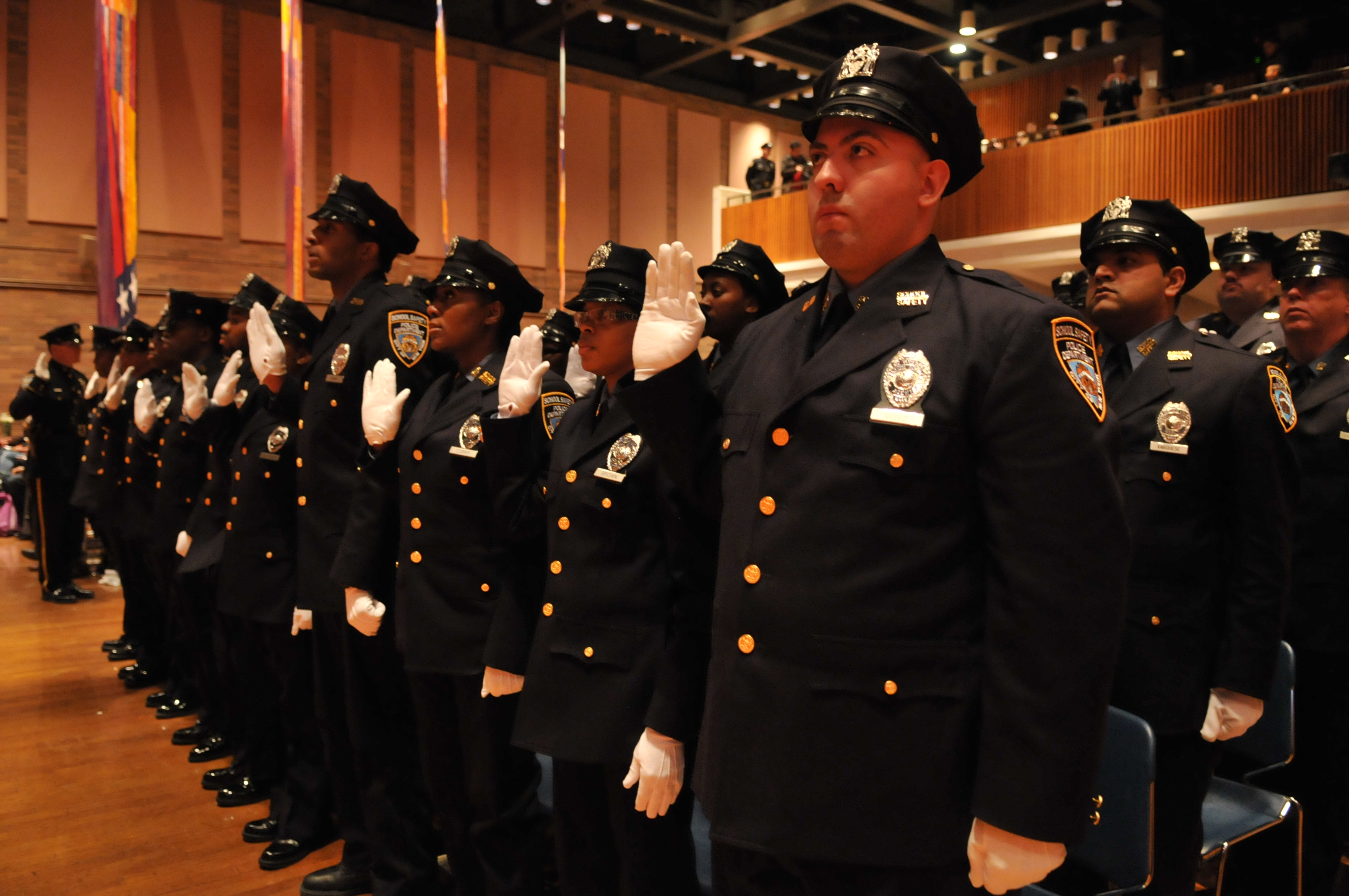 NYPD School Safety Agents Graduation