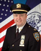 NYPD Deputy Inspector Terence Hurson