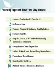 Working together, New York City aims to