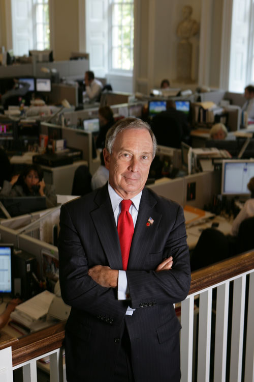 Official portrait of Mayor Bloomberg