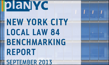 PlaNYC New York City Local Law 84 Benchmarking Report 2013