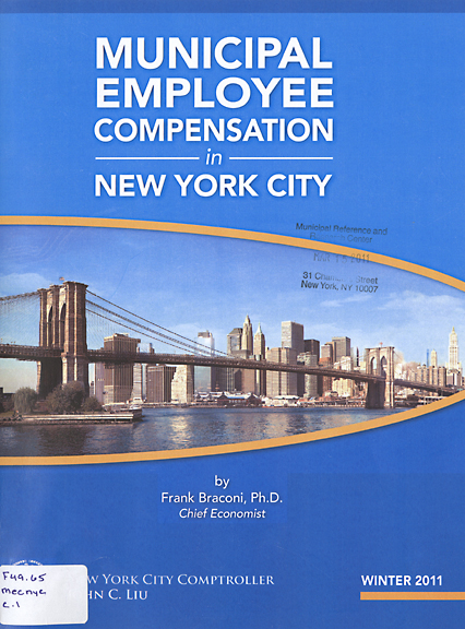 Municipal Employee Compensation in New York City