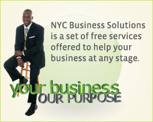NYC Business Solutions is a set of free services offered to help your business at any stage.